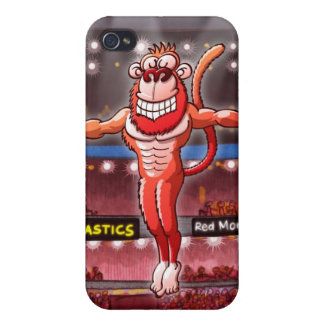 Flying Rings Monkey iPhone 4 Cover