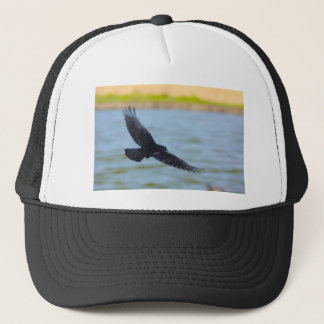 flying rook trucker hat