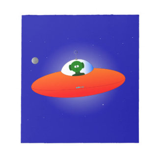 Flying Saucer Notepad