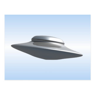 Flying Saucer Post Card