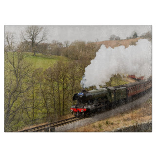 Flying Scotsman at Goathland Cutting Board