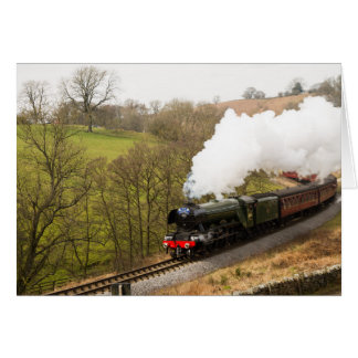Flying Scotsman at Goathland Greeting Card