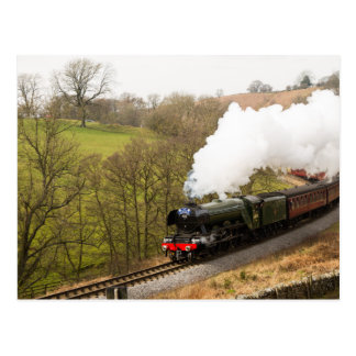 Flying Scotsman at Goathland Postcard