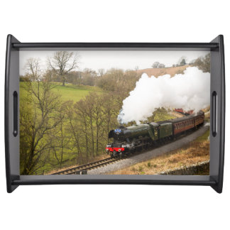 Flying Scotsman at Goathland Serving Tray