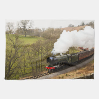 Flying Scotsman at Goathland Tea Towel