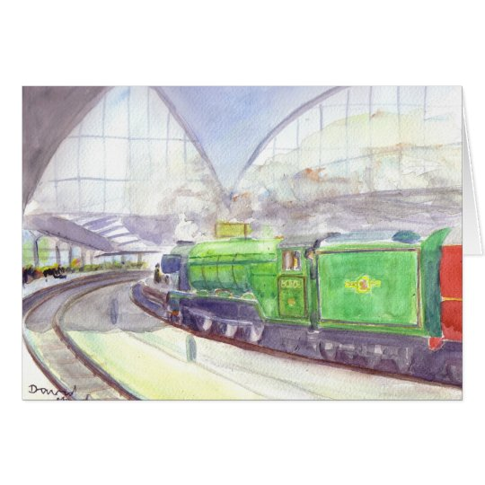 Flying Scotsman Birthday card