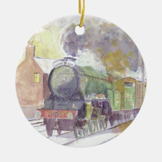 Flying Scotsman Christmas ornament