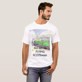 Flying scotsman Tee shirt