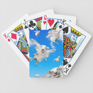 FLYING SHEEP 2 BICYCLE PLAYING CARDS