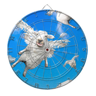 FLYING SHEEP 2 DARTBOARD