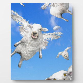 FLYING SHEEP 2 PLAQUE