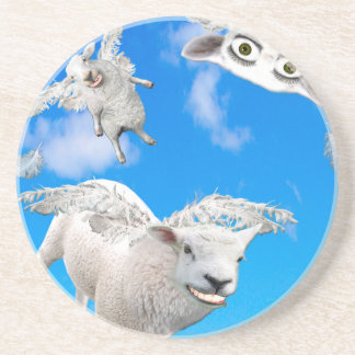 FLYING SHEEP 3 DRINK COASTERS
