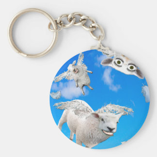 FLYING SHEEP 3 KEY RING