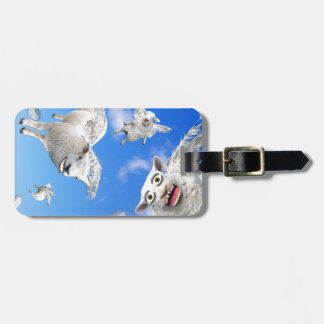 FLYING SHEEP 3 LUGGAGE TAG