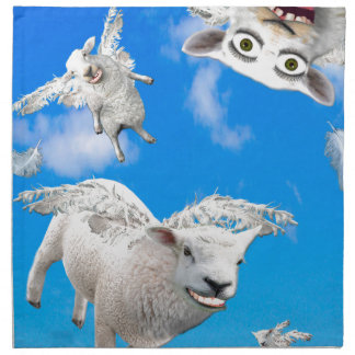 FLYING SHEEP 3 NAPKIN