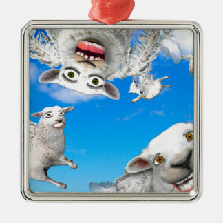 FLYING SHEEP 4 CHRISTMAS ORNAMENT