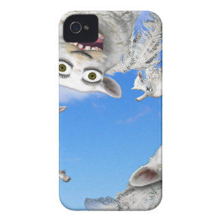 FLYING SHEEP 4 iPhone 4 Case-Mate CASE