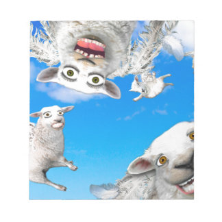 FLYING SHEEP 4 NOTEPADS
