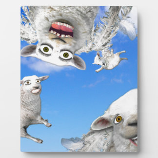FLYING SHEEP 4 PLAQUE