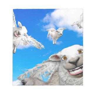 FLYING SHEEP 5 NOTEPAD