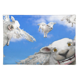FLYING SHEEP 5 PLACEMAT