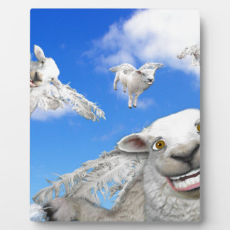 FLYING SHEEP 5 PLAQUE