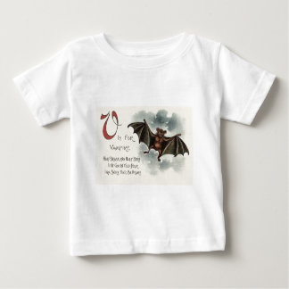 Flying Silly Goofy Vampire Bat Baby T-Shirt