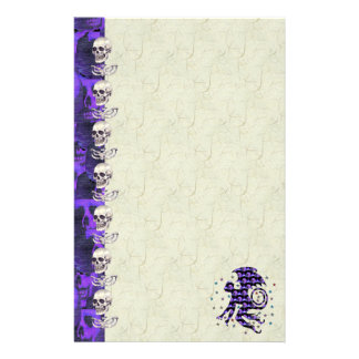 Flying Skull Monkey Stationery