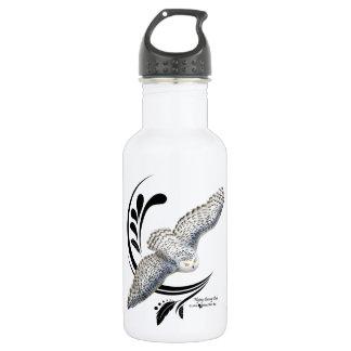 Flying Snowy Owl 532 Ml Water Bottle