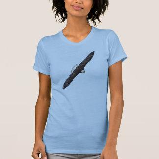 Flying Soaring Bald Eagle Wildlife Freedom Photo T-shirt