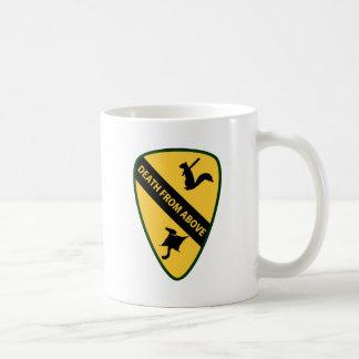 Flying Squirrel First Air Cavalry Insignia Mug