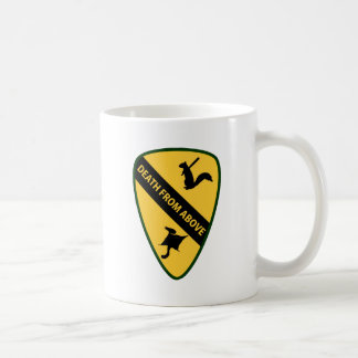 Flying Squirrel First Air Cavalry Insignia Mugs