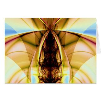 flying squirrel greeting card