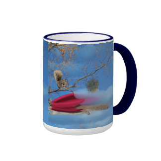 flying squirrel ringer mug