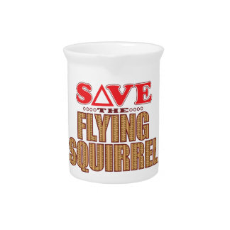 Flying Squirrel Save Drink Pitcher