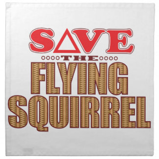 Flying Squirrel Save Napkin