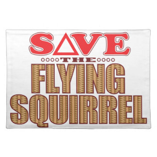 Flying Squirrel Save Placemat
