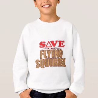 Flying Squirrel Save Sweatshirt