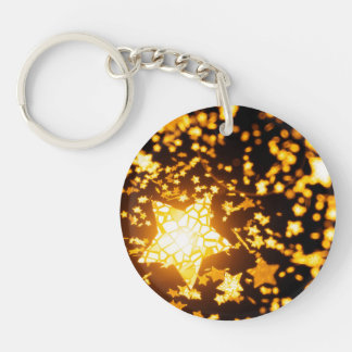 Flying stars key ring