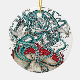 Flying The Agaric.png Christmas Ornament