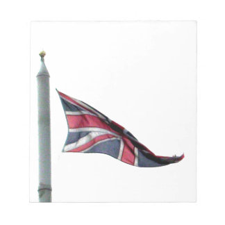 Flying the Flag for Britain Union Jack Notepad