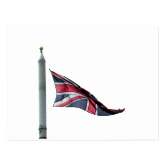 Flying the Flag for Britain Union Jack Postcard