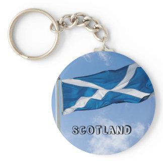 Flying the flag for Scotland Key Ring