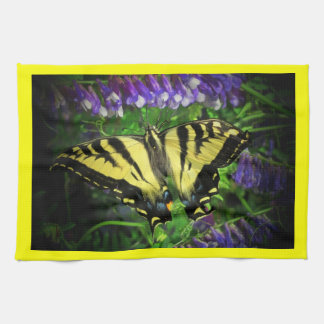 Flying Tiger Butterfly Tea Towel