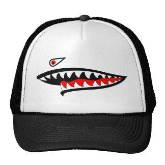 Flying Tiger Teeth - Left Mesh Hat