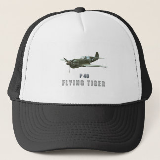 Flying Tiger Trucker Hat