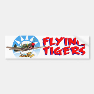 Flying Tigers Bumper Sticker