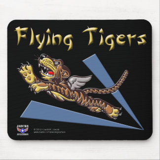Flying Tigers Logo Mousepad