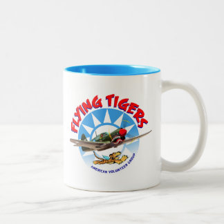 Flying Tigers Two-Tone Coffee Mug