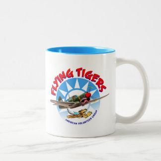 Flying Tigers Two-Tone Mug